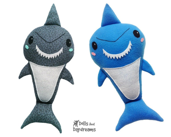 Shark Sewing Pattern - Dolls And Daydreams - 5