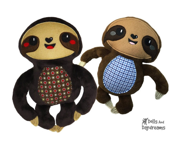 Sloth Sewing Pattern - Dolls And Daydreams - 4