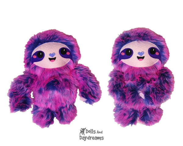 Sloth Sewing Pattern - Dolls And Daydreams - 5
