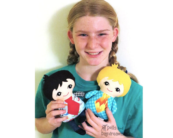 Tiny Tim Sewing Pattern - Dolls And Daydreams - 4