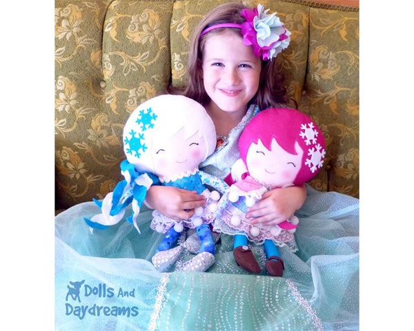 Snow Sisters Sewing Pattern - Dolls And Daydreams - 4