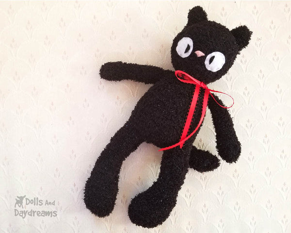 Video Companion Sock Cat Sewing Pattern
