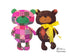 Baby Teddy Bear Sewing Pattern Softie DIY soft toy - Dolls And Daydreams - 1