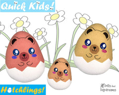 ITH Quick Kids Teddy Hatchling Pattern