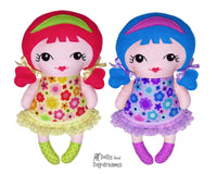 Tiny Tilda Sewing Pattern - Dolls And Daydreams - 1