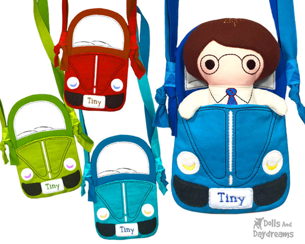ITH Tiny Tom Car Tote Pattern
