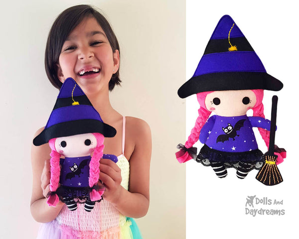 Tiny Tot Witch Sewing Pattern