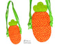 Tiny Tot Carrot Tote Sewing Pattern