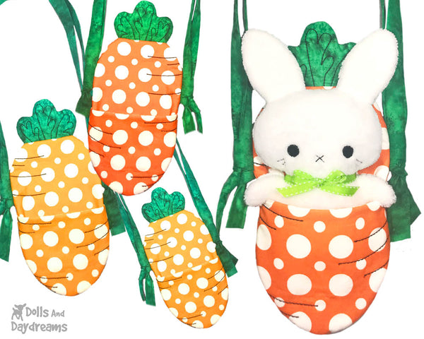 ITH Tiny Tot Carrot Tote Pattern