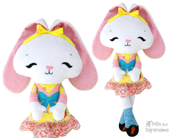 Tippy Toes Bunny Sewing Pattern