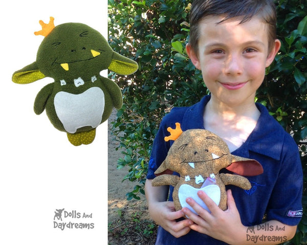Tooth Goblin Sewing Pattern - Dolls And Daydreams - 5