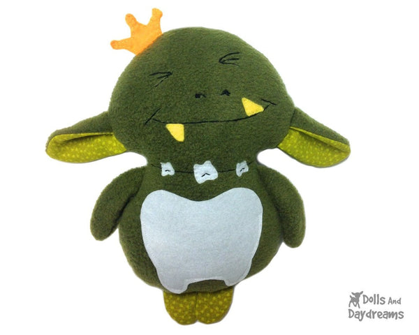 Tooth Goblin Sewing Pattern - Dolls And Daydreams - 7