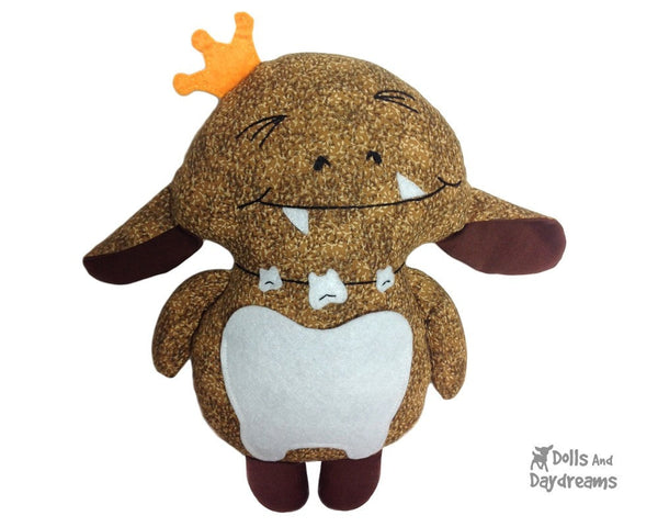 Tooth Goblin Sewing Pattern - Dolls And Daydreams - 1