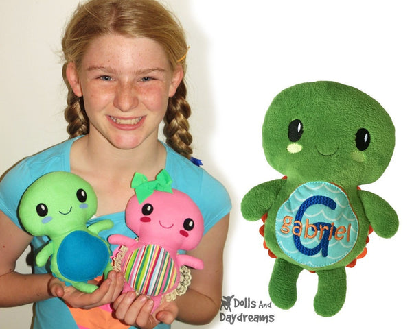 Turtle Sewing Pattern - Dolls And Daydreams - 5