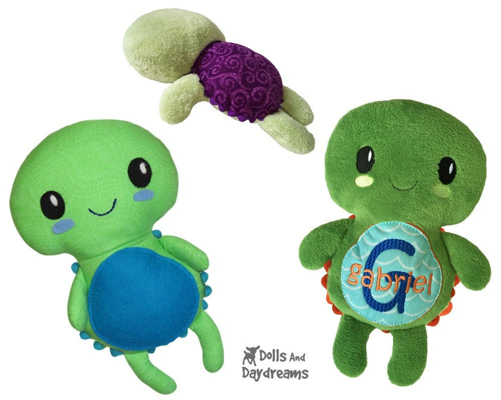 Turtle Sewing Pattern | Dolls And Daydreams