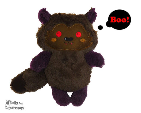 Werewolf Pup Sewing Pattern - Dolls And Daydreams - 1