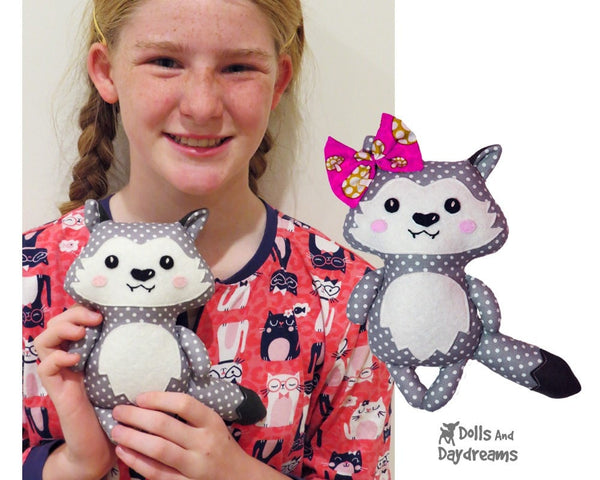 Wolf Pup Sewing Pattern - Dolls And Daydreams - 6