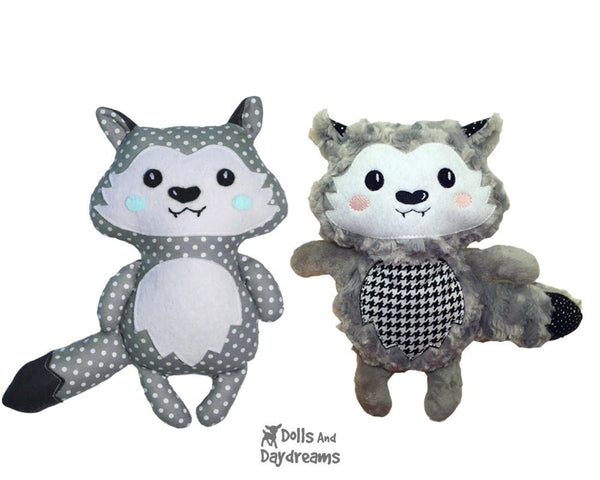 Wolf Pup Sewing Pattern - Dolls And Daydreams - 4