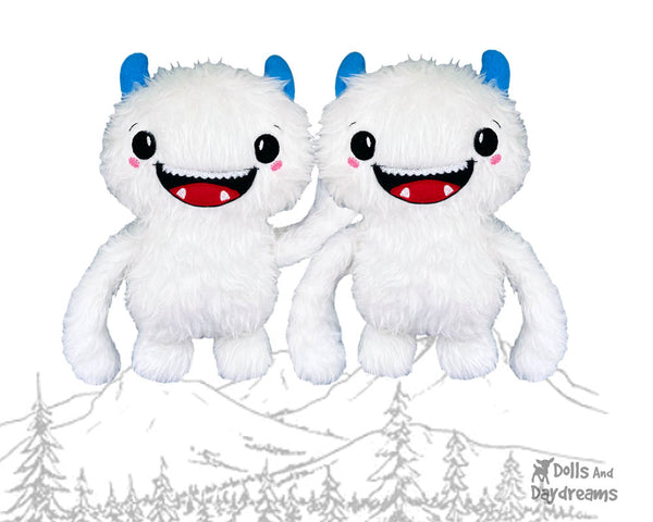 ITH Happy Yeti Pattern