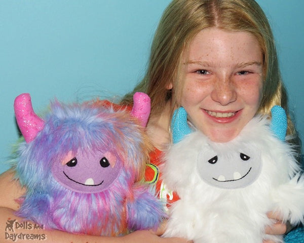 Yeti Monster Sewing Pattern - Dolls And Daydreams - 5
