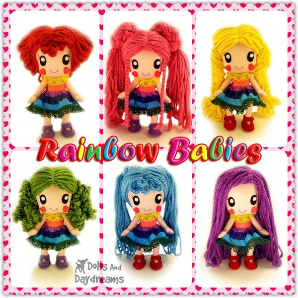 Rainbow Babies Play Set - Dolls And Daydreams - 2