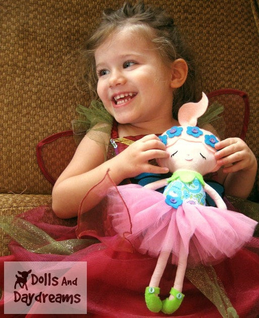 Flower Fairy Sewing Pattern - Dolls And Daydreams - 4