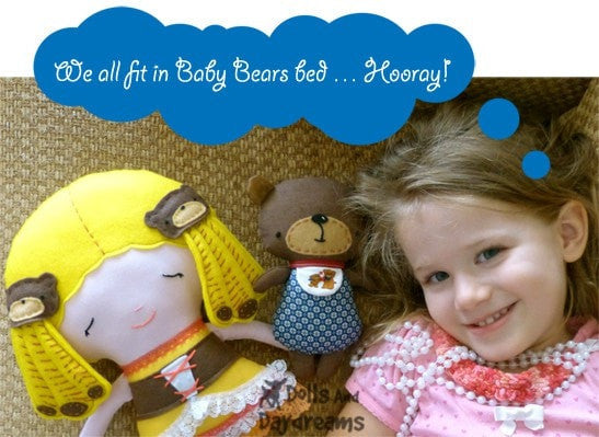 Baby Bear Sewing Pattern - Dolls And Daydreams - 4