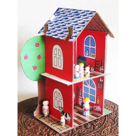 Full Set DIY Doll House &  Printouts - Dolls And Daydreams - 3