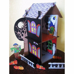 Decorative 'Haunted House' Printouts