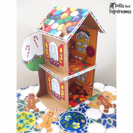 Full Set DIY Doll House &  Printouts - Dolls And Daydreams - 6