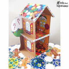 Decorative 'Gingerbread House' Printouts