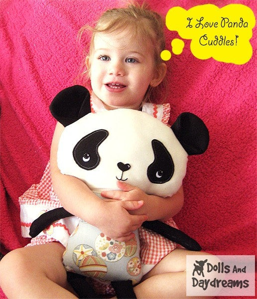 Panda Sewing Pattern - Dolls And Daydreams - 4
