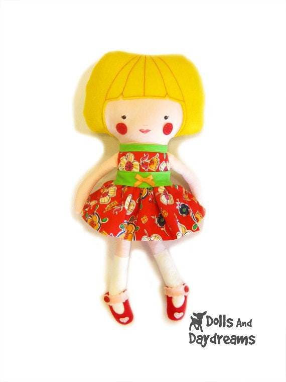 Party Dress Sewing Pattern - Dolls And Daydreams - 4