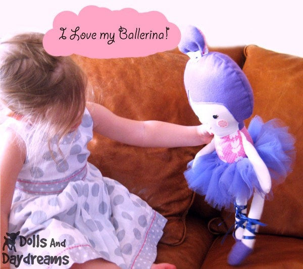 Ballerina Sewing Pattern - Dolls And Daydreams - 3