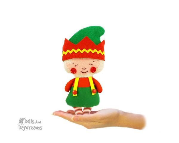Elf Sewing Pattern - Dolls And Daydreams - 1