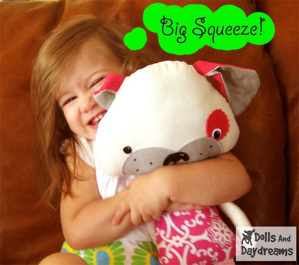 Puppy Dog Sewing Pattern - Dolls And Daydreams - 5