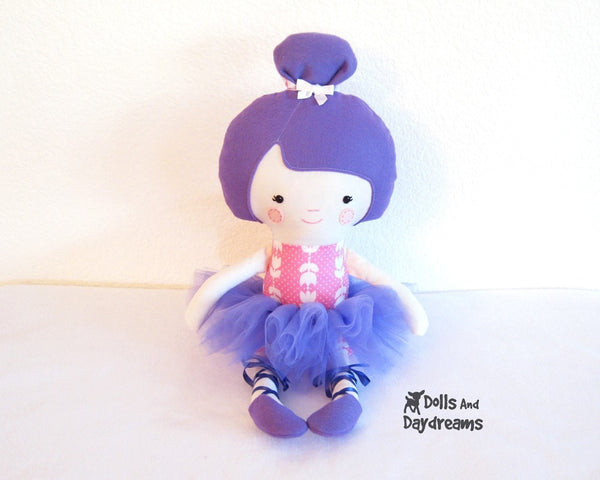 Ballerina Sewing Pattern - Dolls And Daydreams - 2