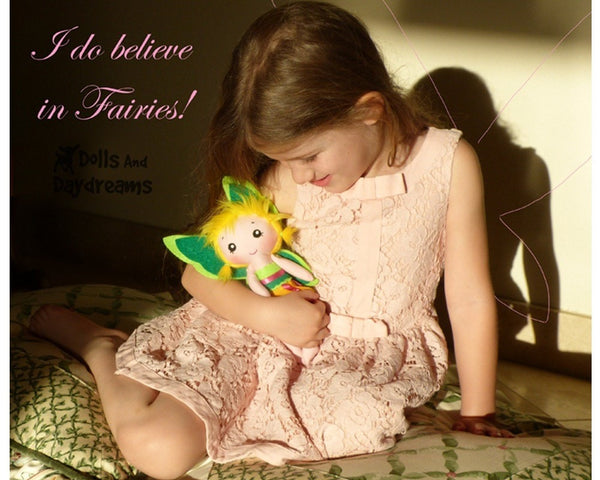 Tinkerbell Fairy Sewing Pattern - Dolls And Daydreams - 5