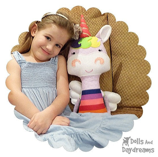 Unicorn Sewing Pattern - Dolls And Daydreams - 5