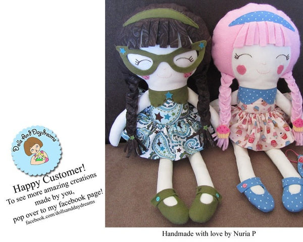 Schoolgirl Sewing Pattern - Dolls And Daydreams - 5