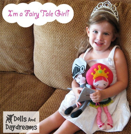 Pocket Princess Sewing Pattern - Dolls And Daydreams - 4
