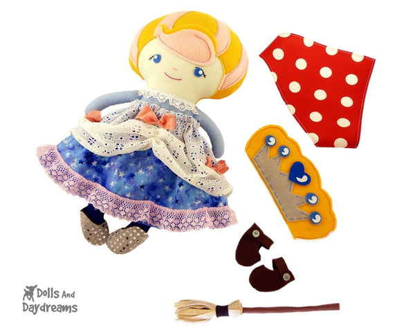 Cinderella Sewing Pattern - Dolls And Daydreams - 5