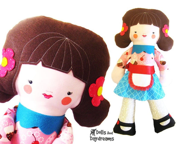 Big Doll Sewing Pattern - Dolls And Daydreams - 2