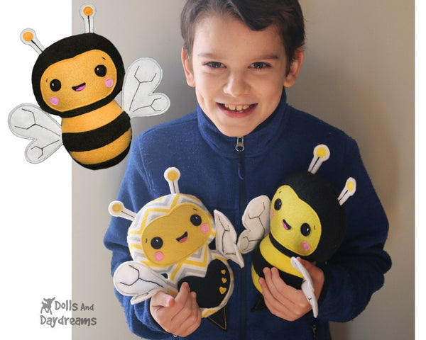 DIY Bee PDF Sewing Pattern