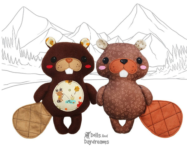 Beaver Sewing Pattern