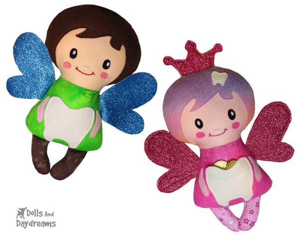 Secret Pocket Tooth Fairy Sewing Pattern - Dolls And Daydreams - 4