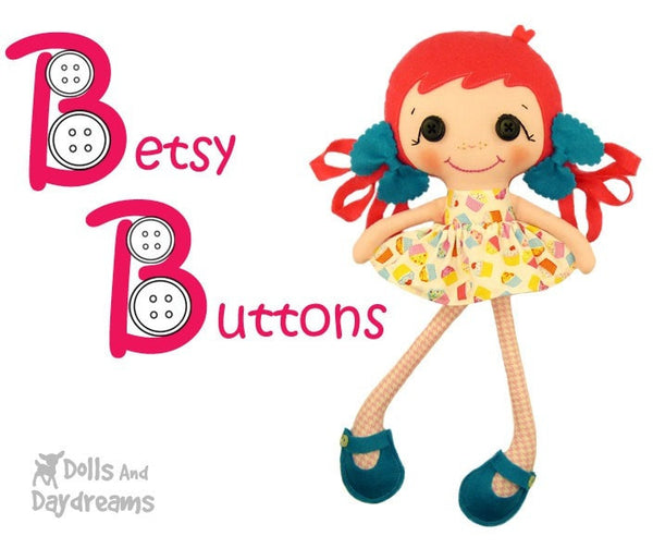 Betsy Buttons Sewing Pattern - Dolls And Daydreams - 4