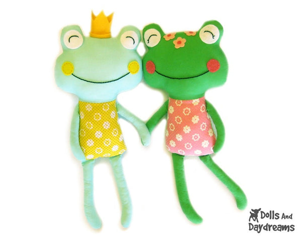 Frog Prince Sewing Pattern - Dolls And Daydreams - 1