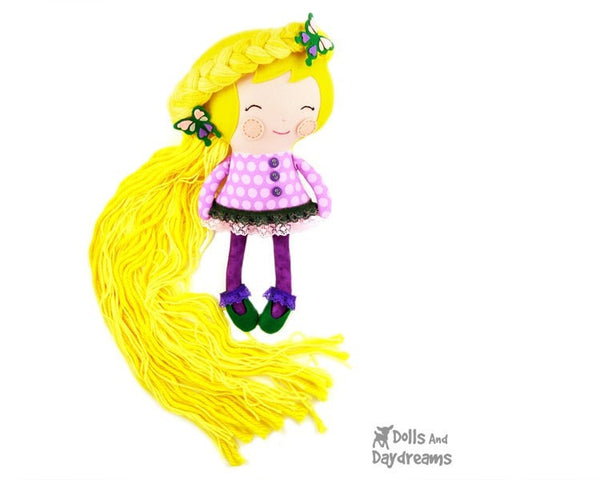 Rapunzel Sewing Pattern - Dolls And Daydreams - 2
