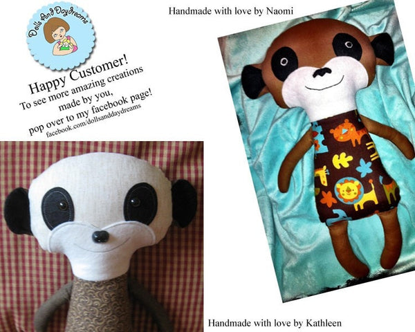 Meerkat Sewing Pattern - Dolls And Daydreams - 5